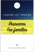 Prayer resource families front page
