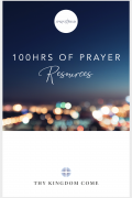 Prayer resource front page